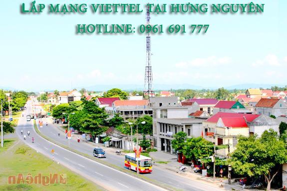 Lắp mạng viettel tại huyện Hưng Nguyên - Hotline: 0961 691 777
