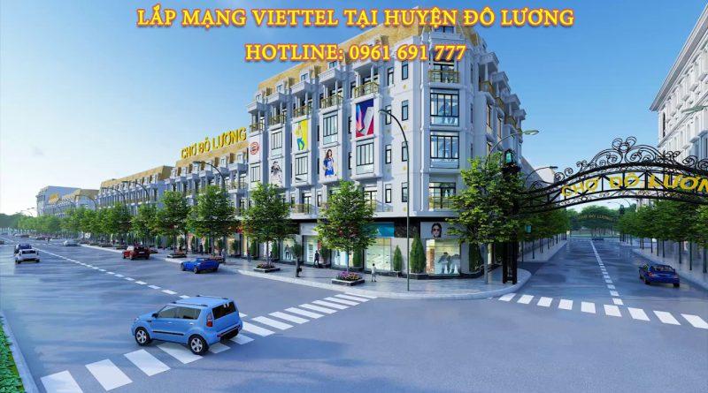 Lắp mạng viettel tại Đô Lương - Hotline: 0961 691 777
