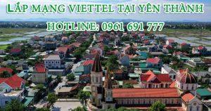 Lắp mạng Viettel tại huyện Yên Thành -Hotline: 0961 691 777