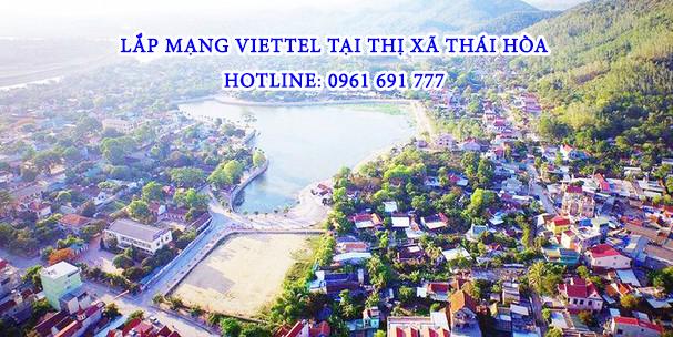 Lắp mạng viettel tại Thái Hòa - Hotline: 0961 691 777