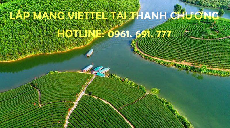 Lắp mạng Viettel tại Thanh Chương - Hotline: 0961 691 777