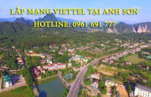 Lắp mạng viettel tại Anh Sơn Nghệ An - Hotline: 0961 691 777