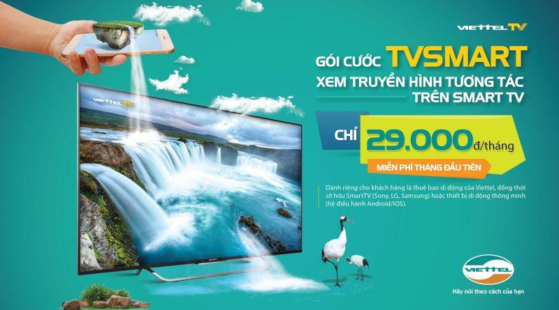 Dịch vụ truyền hình Smart Viettel TV