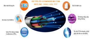 Đường truyền cáp quang Viettel