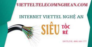 Internet Viettel Nghệ An