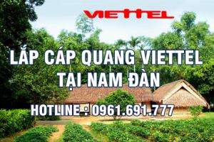 Lắp đặt cáp quang Viettel tại Nam Đàn