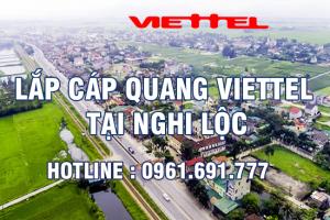 Lắp đặt cáp quang Viettel tại Nghi Lộc