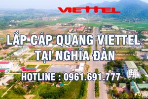Lắp đặt cáp quang Viettel tại Nghĩa Đàn