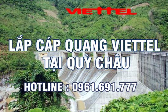 Lắp đặt cáp quang Viettel tại Quỳ Châu