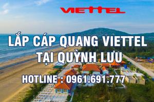 Lắp đặt cáp quang Viettel tại Quỳnh Lưu