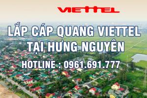 Lắp đặt cáp quang Viettel tại Hưng Nguyên